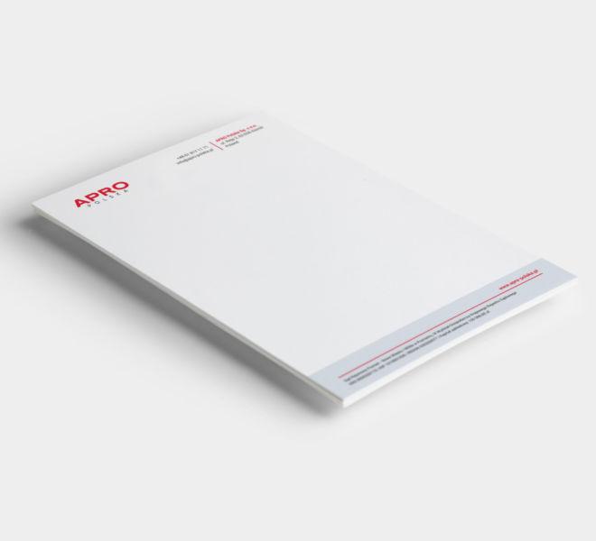 elegancki projekt grafika papier firmowy