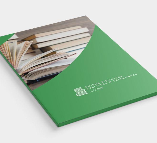 projekt teczki dla biblioteki