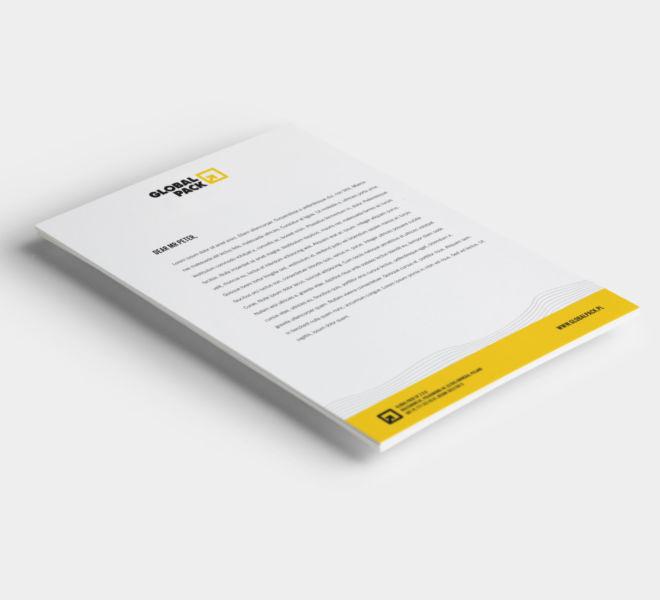 projektowanie graficzne papier firmowy branding