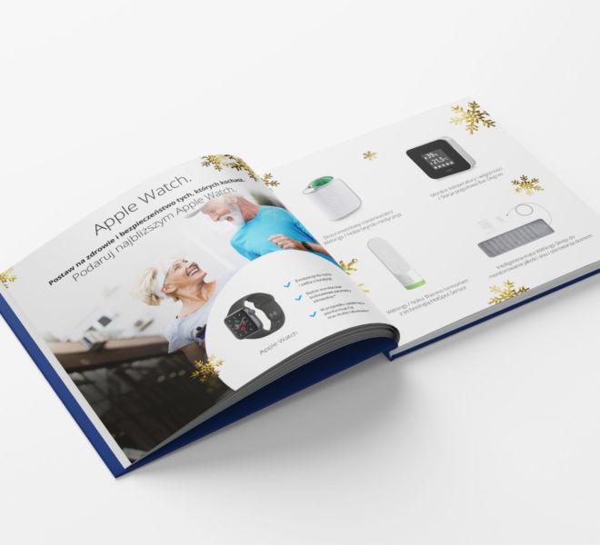 projekt katalogu prezentacja produktu