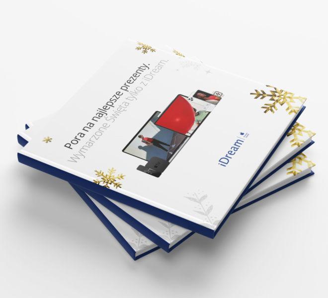 projekt okladki katalogu swiateczny
