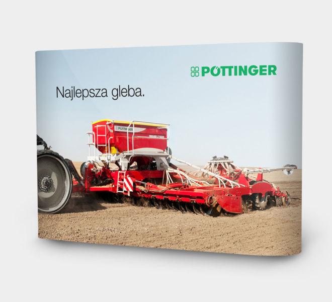 projekt scianki wystawienniczej dla przemyslu rolniczego