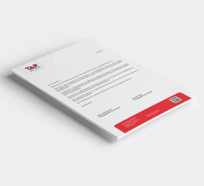 projekt papieru firmowego minimalistyczny elegancki nowoczesny