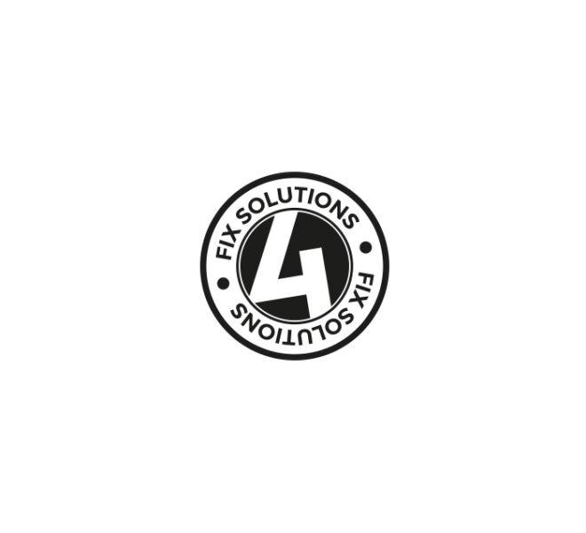 logo pieczątka typografia geometria design