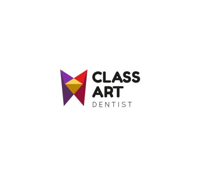 geometryczne logo dentysta