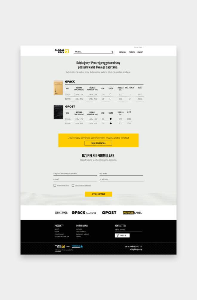 flat design landing page projektowanie