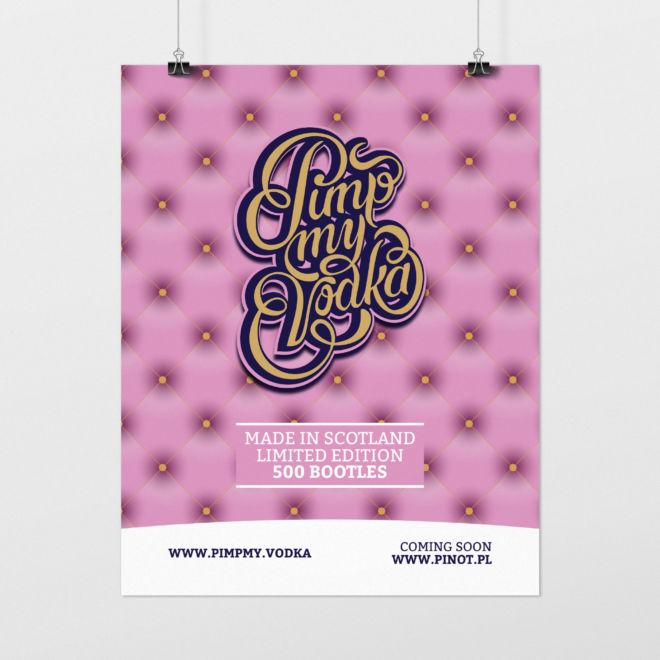projekt typograficzny plakatu