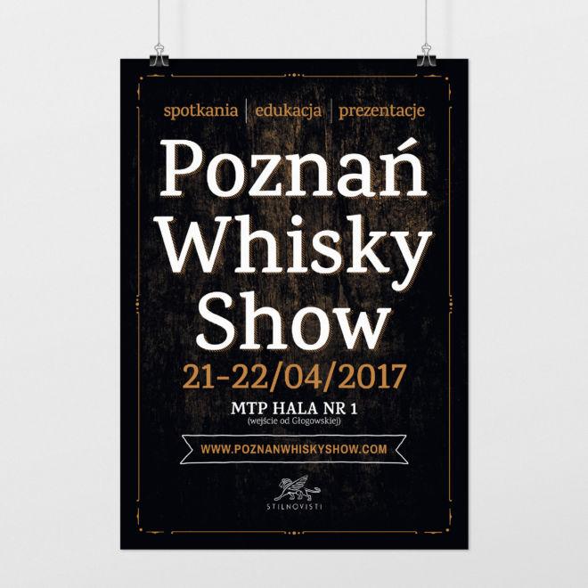 plakat promocyjny event whisky degustacja