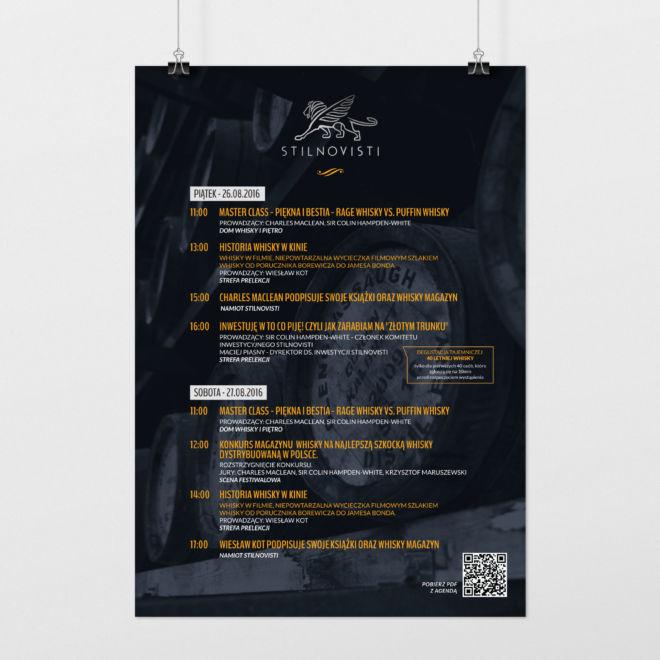 projekt plakatu na event plan eventu wydarzenia