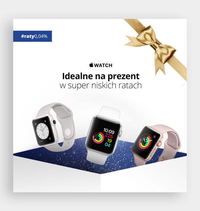 minimalistyczny baner dla dystrybutora sprzetu elektronicznego prezenty