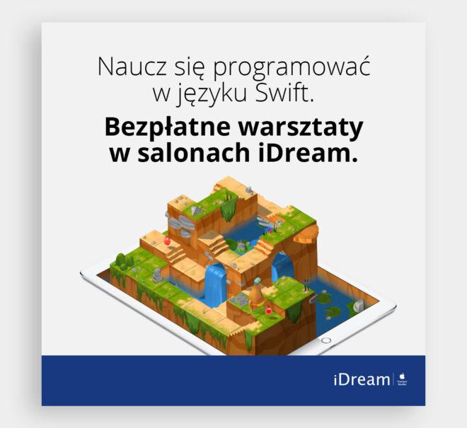 baner design swift programowanie