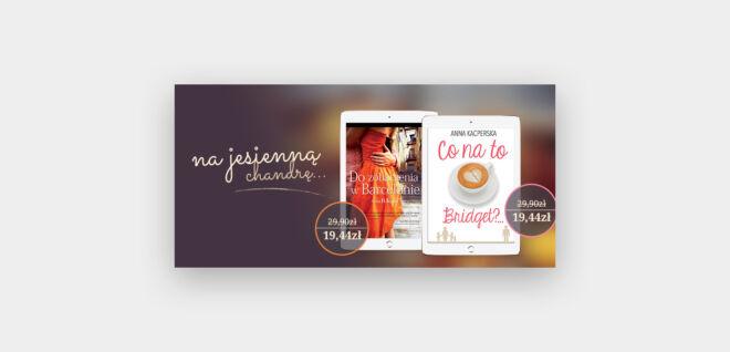 promocje na ebooki projekt banneru jesien