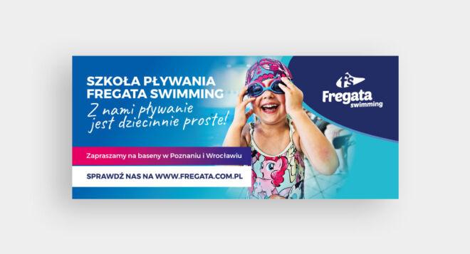 projekt banera plywalnia zajecia dla dzieci
