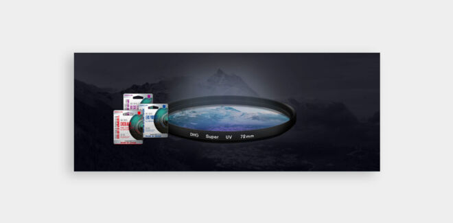 baner obiektywy filtry foto wideo design sztuka