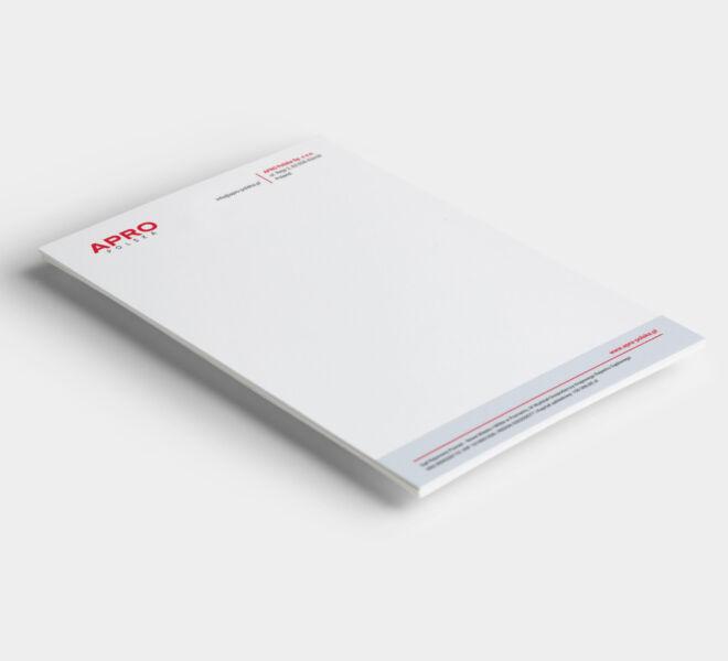branding studio graficzne papier firmowy glogow