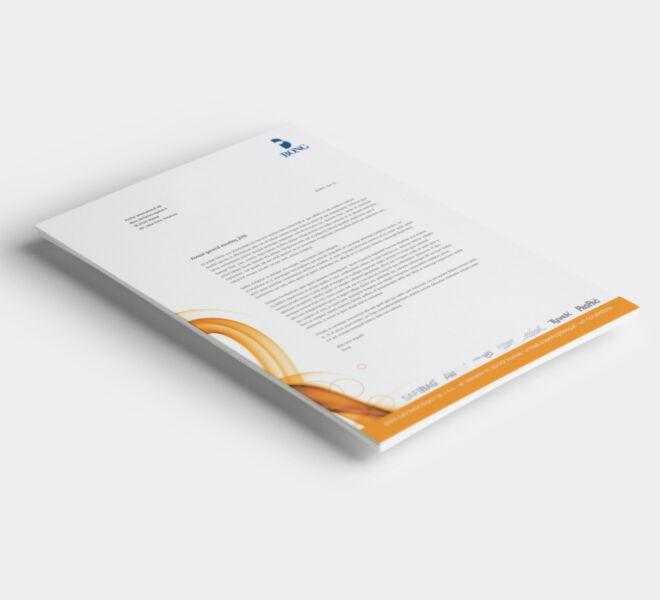 branding studio graficzne papier firmowy