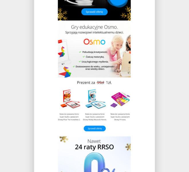 nowoczesny projekt newslettera mailingu studio graficzne glogow