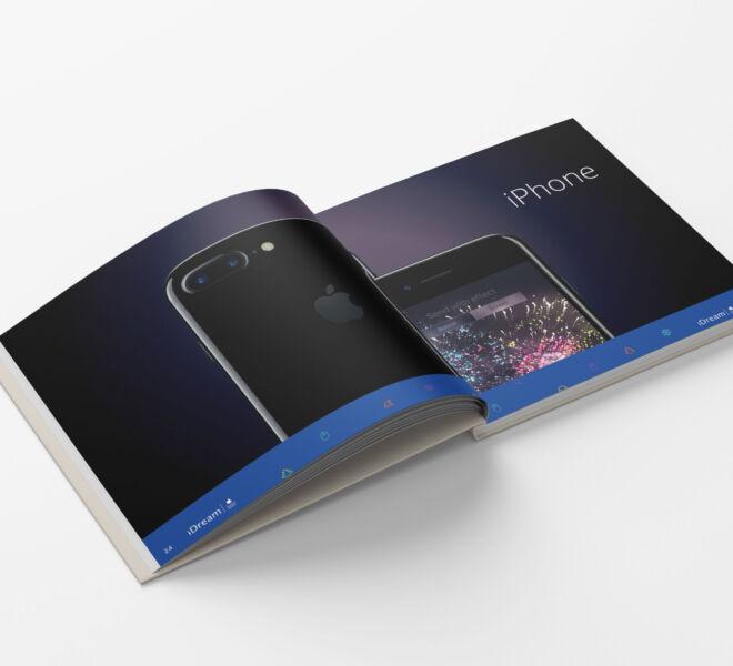 nowoczesny projekt katalogu projektowanie graficzne