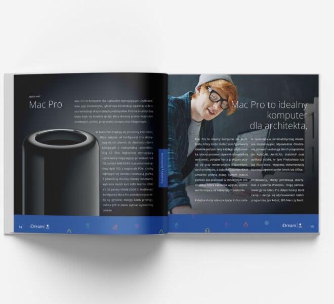 nowoczesny projekt katalogu projektowanie graficzne glogow