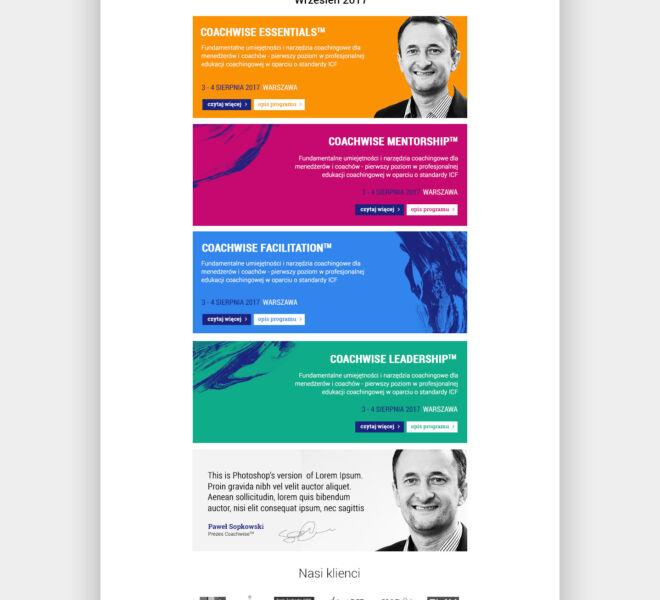 projektowanie studio projektowe poznan projekt newsletter design