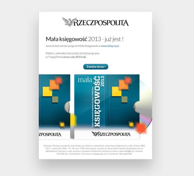 projektowanie graficzne newletter glogow