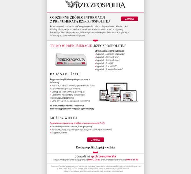 grafika mailing projekt poznan