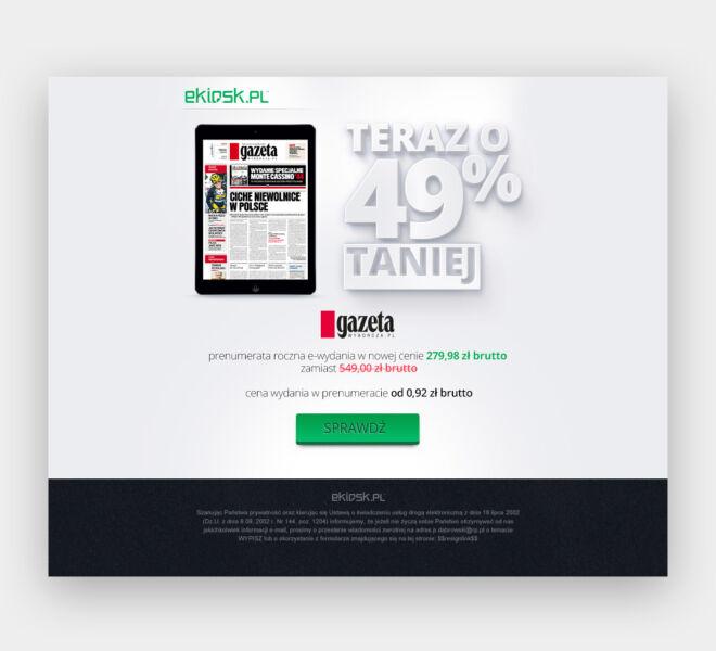 newsletter design projektowanie glogow