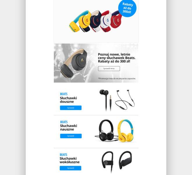 minimal newsletter design projektowanie graficzne glogow