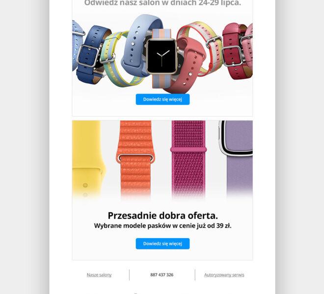 studio projektowanie do internetu newsletter glogow grafika