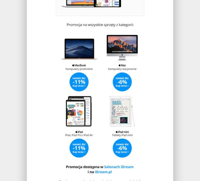 projekt graficzny newsletter glogow