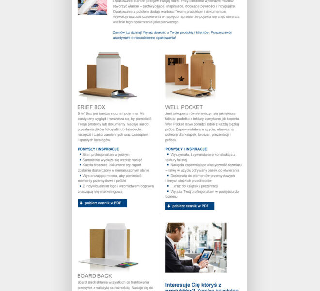 mailing promocja reklama projektowanie graficzne glogow