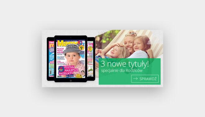 baner promujacy czasopisma dla rodzicow