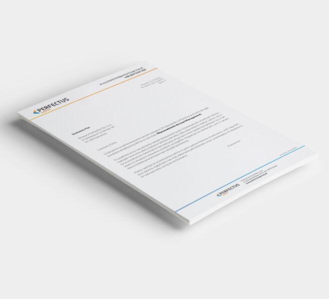 grafika projektowanie graficzne papier firmowy pismo projekt papieru firmowego poznan