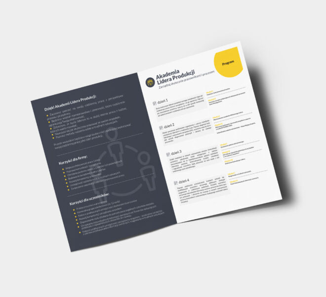 projekt grafika folder design poznan