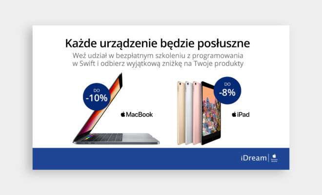 baner promocja sprzetu komputerowego
