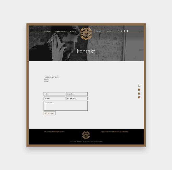 projekt strony internetowej projektowanie graficzne poznan
