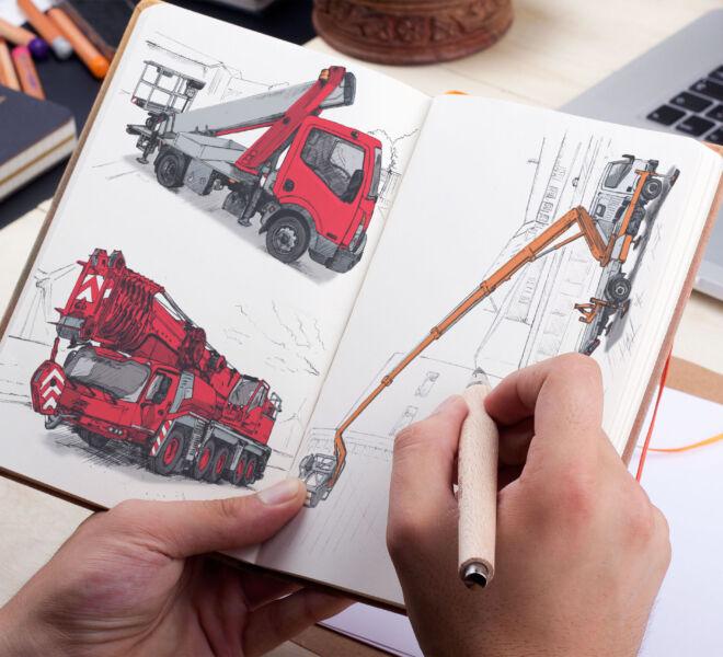projekt ilustracji ilustrator poznan