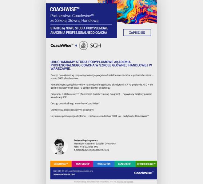 modern design projektowanie graficzne poznan mailing
