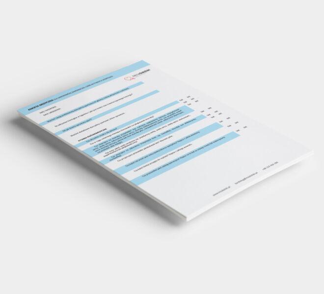 projektowanie studio graficzne grafik ankiety gabinety lekarskie grafika poznan