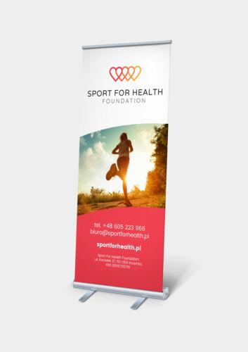 projekt rollup fundacja sport zdrowie minimal