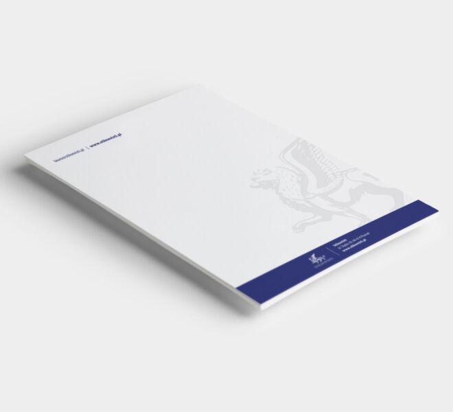 papier firmowy branding projektowanie design grafik poznan
