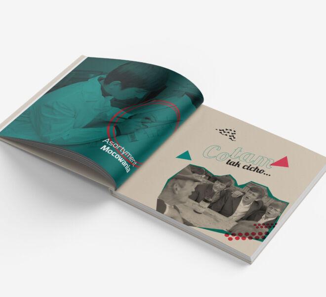 Design projekt katalogu projektowanie graficzne poznan