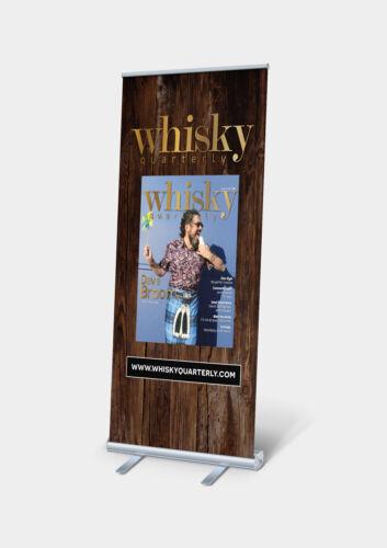 projekt rollup whisky drewno wood design industrial