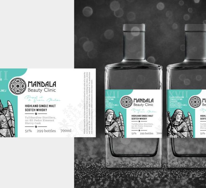 projektowanie graficzne projekt etykiety premium wzornictwo na butelke whisky grafika studio graficzne glogow poznan