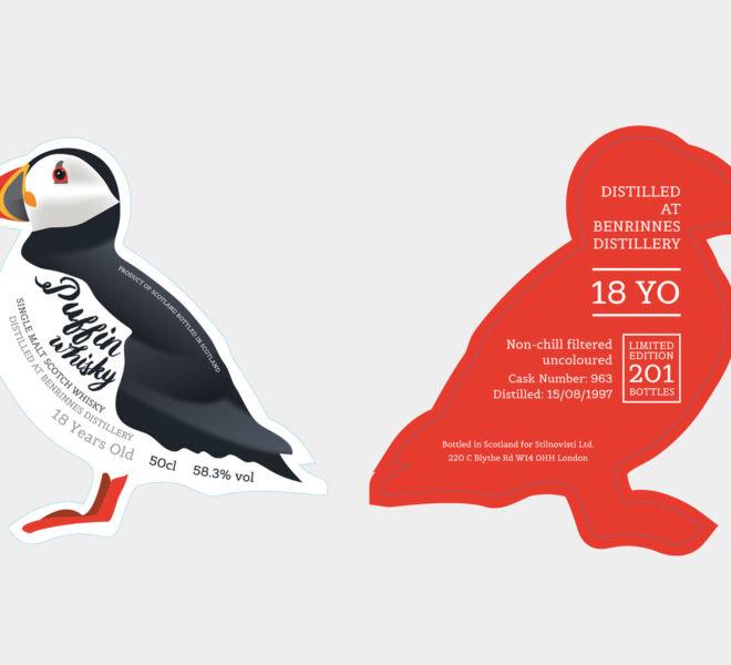 projekt etykiety whisky custom projektowanie graficzne grafika design wzornictwo