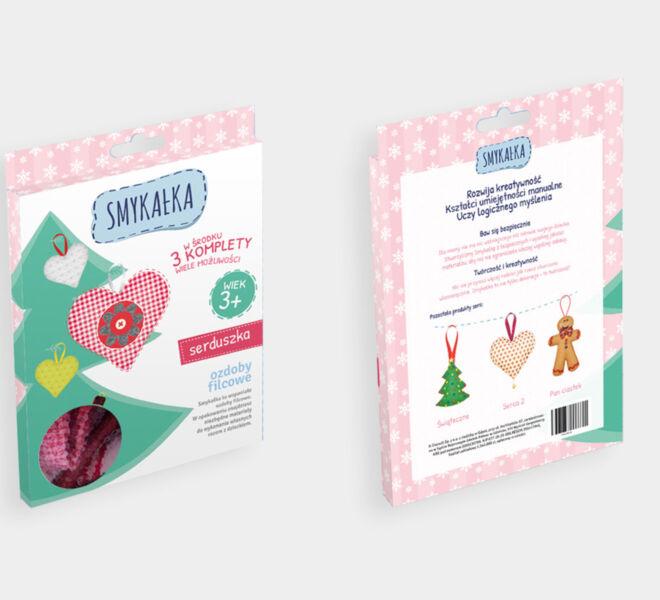 projekt opakowania produkt dla dzieci projektowanie graficzne glogow