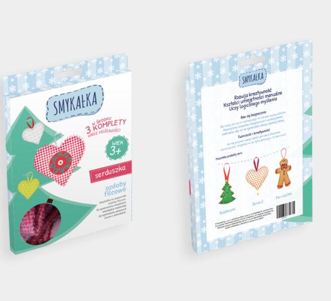 projekt opakowania produkt dla dzieci projektowanie graficzne