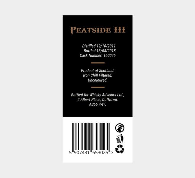 projekt etykiety na butelke premium whisky projektowanie graficzne poznan