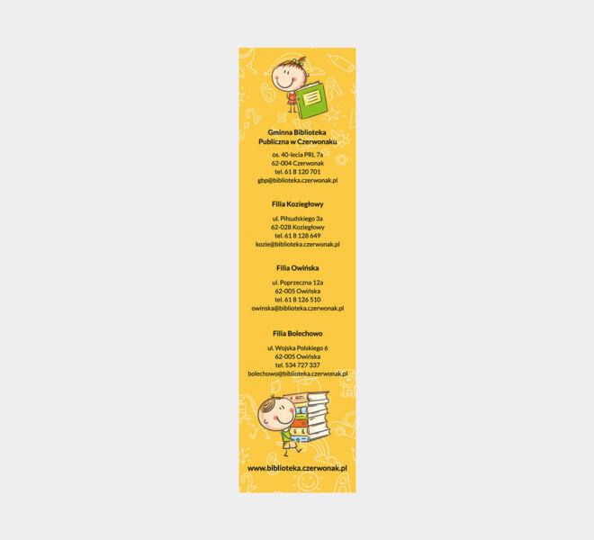 projekt zakladki do ksiazki edukacja projektowanie glogow